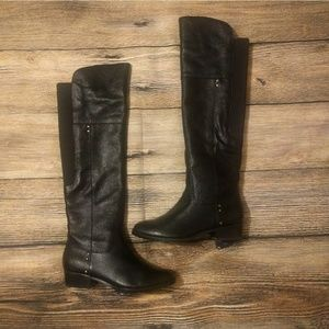 DOLCE VITA Leather Over The Knee Riding Boot 6